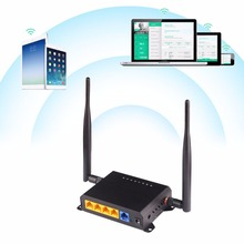 KuWFi 300Mbps Wireless Router 2.4Ghz Long Range Wifi Repeater Wifi Extender Through Wall Openwrt Wifi Router