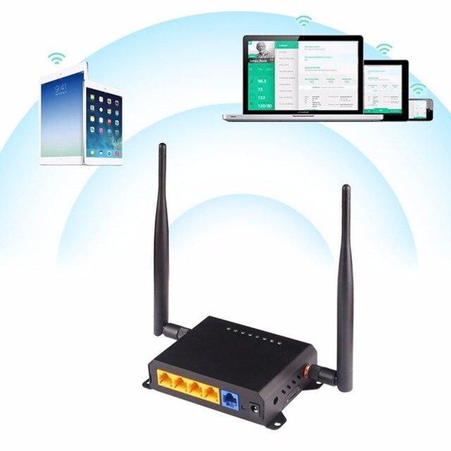 KuWFi 300Mbps routeur sans fil 2.4Ghz longue portée Wifi répéteur Wifi Extender via mur Openwrt Wifi routeur