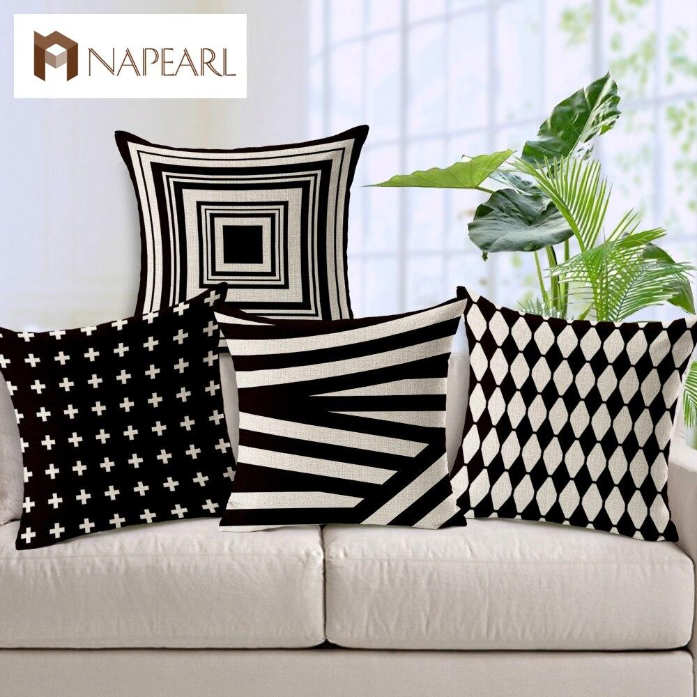 Cuscini Bianchi E Neri in bianco e nero di sole ombreggiatura geometria software