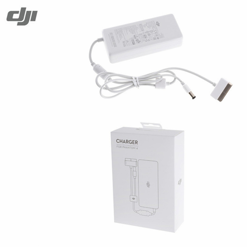 Original  DJI Phantom 4 Battery Charger 100W AC Power Adaptor (Without AC Cable) for Phontom4 Series Charging Hub Adapter dji spark drone 3 in 1 car charger battery charging