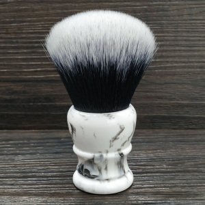 Image 1 - dscosmetic 30mm big Tuxedo Knot synthetic hair shaving brush resin handle by hand made