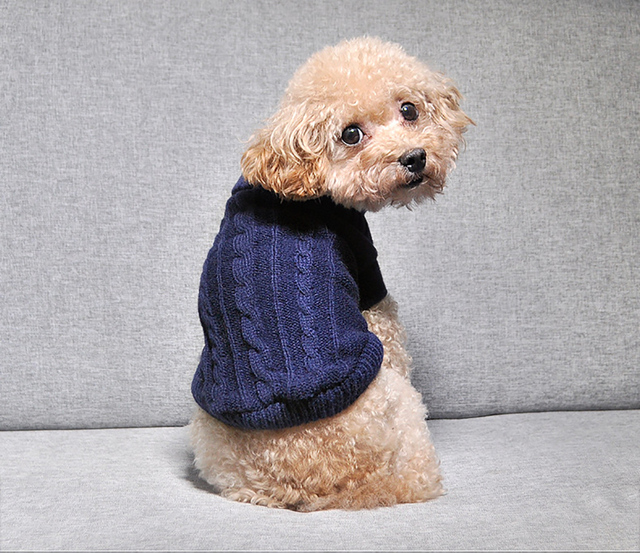 Warm Knitted Pet's Sweater