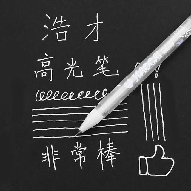 1PC DIY Colorful Highlight Pen Student Sketch Drawing Graffiti Art Markers Comic Design Hook Liner Pen Stationery Art Supplies 1