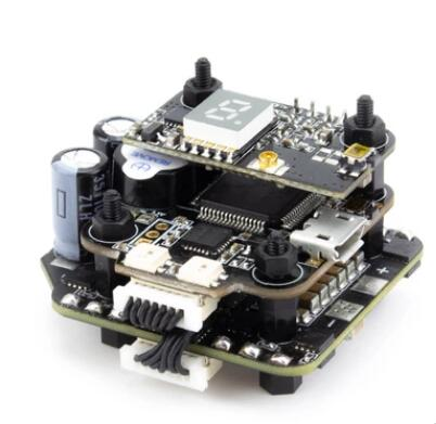 Emax Mini MAGNUM 2 F4 Flight Controller MPU6000 6S BLHELI 32BIT 35amp BLHeli32 Capable ESC Board Current Sensor All-in-One Stack cjmcu all in one mwc flight control board atmega2560 mpu6050 hmc5883l ms5611 top version