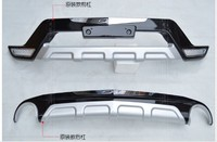 Free Shipping ABS Front Rear Bumper Protector Guard Skid Plate 2PCS Fit For Mazda CX 5