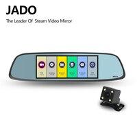 JADO D580 Car Dvrs 6.86 LCD Screen Full HD 1080P Car Dvrs Recorder Rearview Mirror Dash cam Registrar