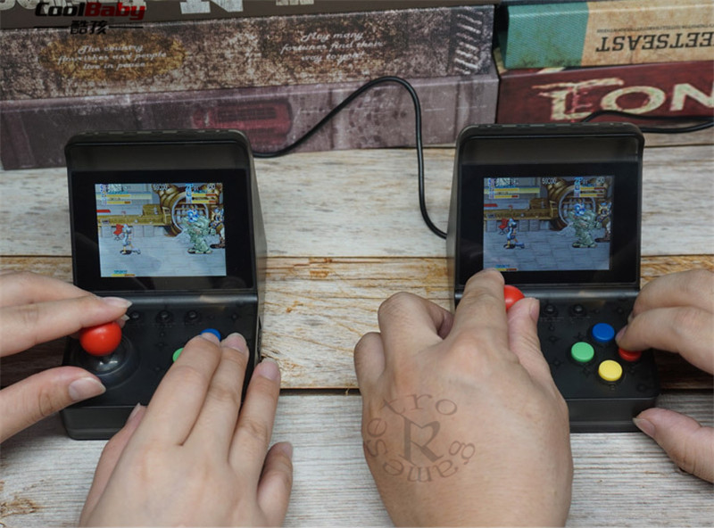 Hot Sale] DHL Mini Handheld Game Players A7 Game Console