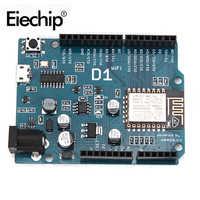 ESP8266 für arduino uno wifi schild Smart Elektronik ESP-12E D1 WiFi uno basierend ESP8266 schild für arduino UNO R3 Micro IDE