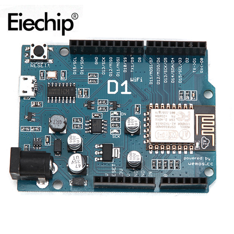 ESP8266 for arduino uno wifi shield Smart Electronics ESP-12E D1 WiFi uno based