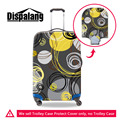 Dispalang Circle Pattern Elastic Stretch Luggage Protective Cover For 18-30Inch Case Travel Dust Cover Waterproof Suitcase Cover