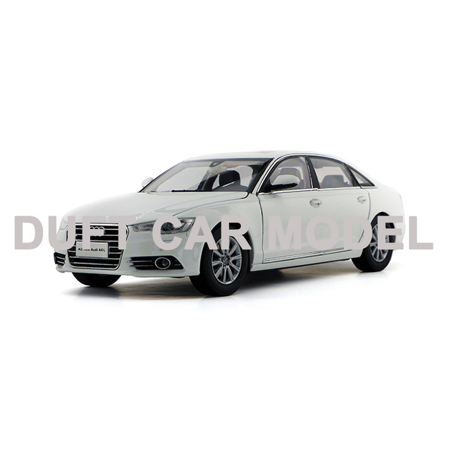 Diecast 1:18 A6L 2012 modelo Diecast Metal aleación coche modelo juguete regalo para la colección con envío gratis