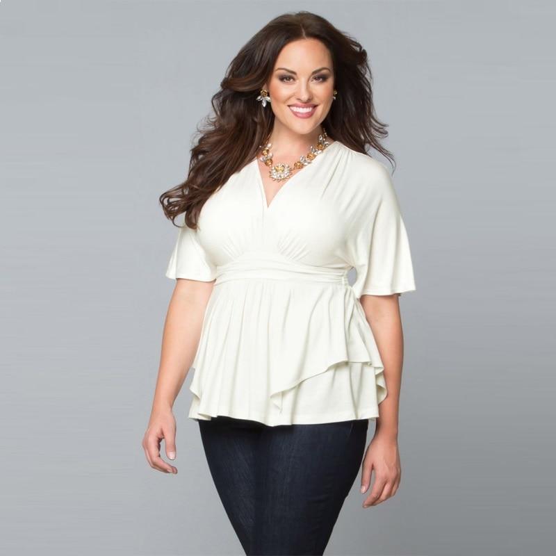 Blusa Feminina 2018 Plus Size Women Clothing Sexy Summer ...  Large