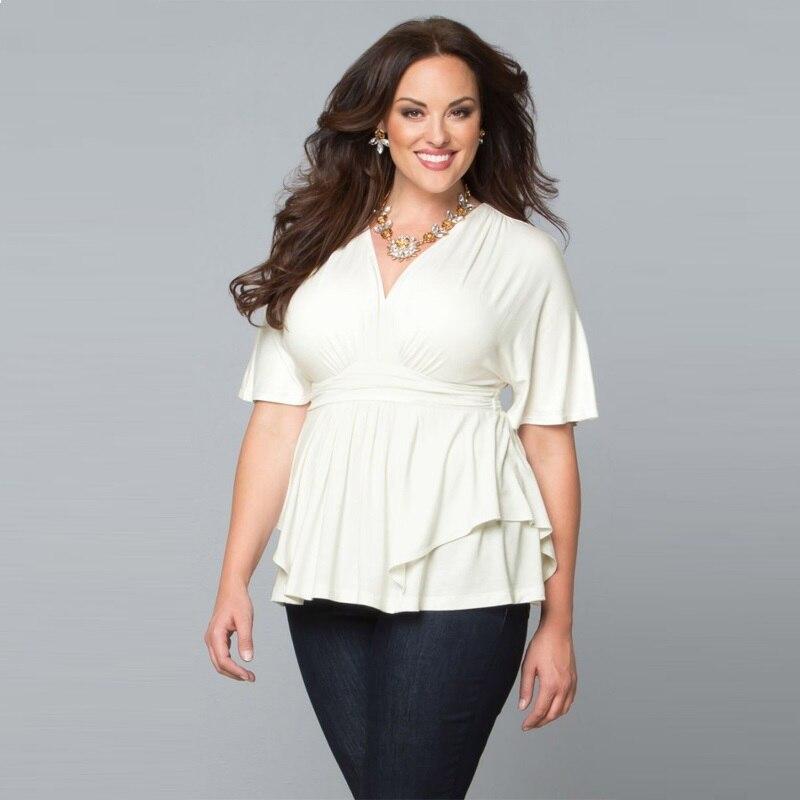 Blusa Feminina 2018 Plus Size Women Clothing Sexy Summer Big
