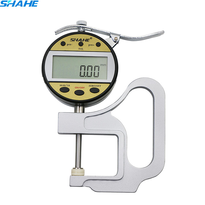 0 01mm 0 25mm thickness gauge high precision Digital LCD leather thickness gauge thickness meter precision