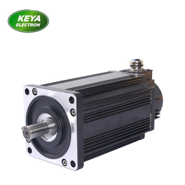 US $259 0 |high torque 24V 1000W Brushless dc servo motor with encoder for  electric vehicles ,AGV,RGV,110 SERIES-in DC Motor from Home Improvement on
