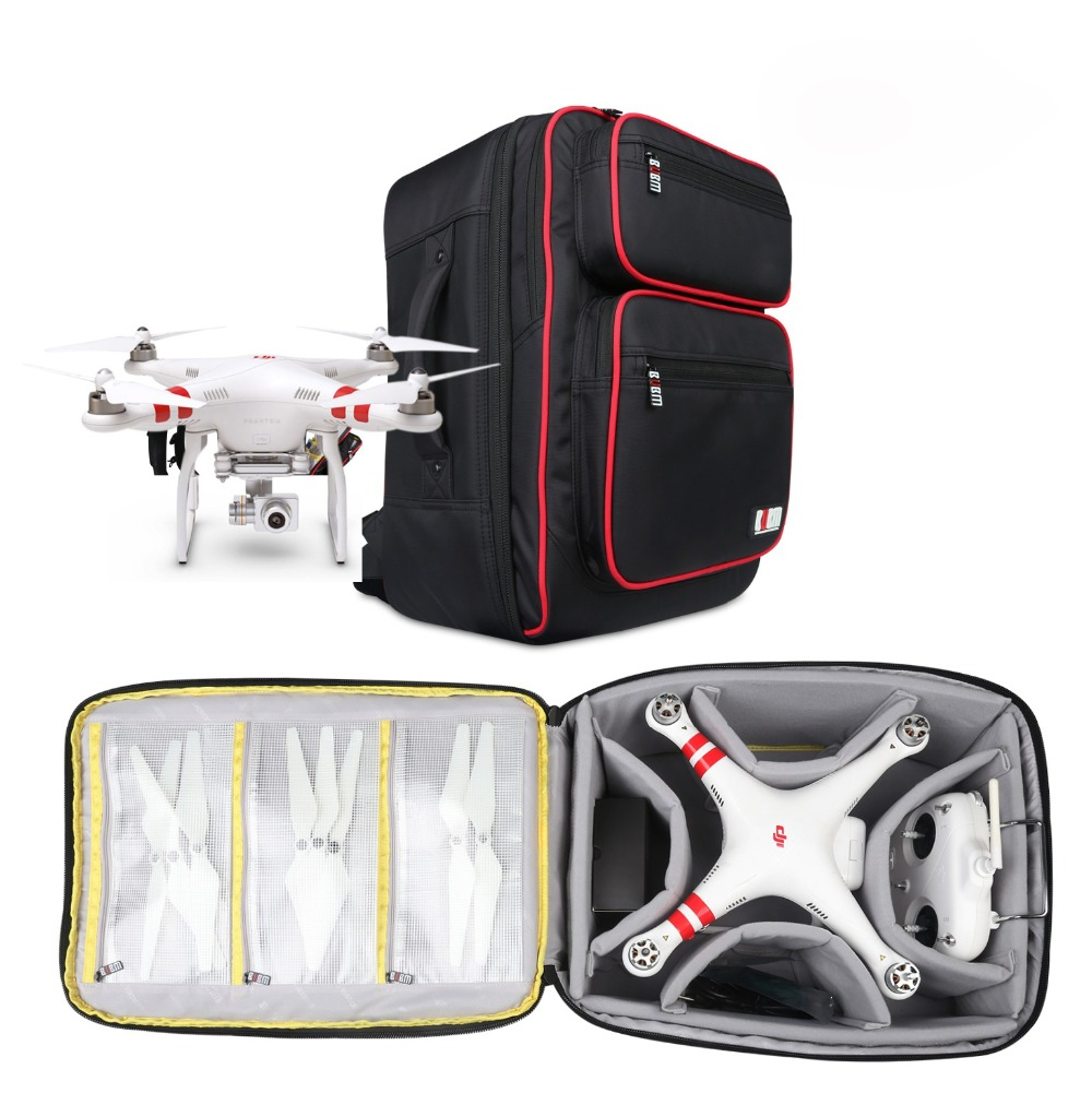 BUBM Professional Phantom Backpack Carrying Shoulder Case Portable waterproof bags for DJI Phantom 3 Professional Advance new specialized parrot bebop drone 3 0 professional portable carrying shoulder bag backpack case vs phantom bag