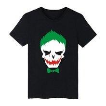 4xl 2016 Suide Squad T Shirt Summer Suide Squad Joker T Shirt Suide Squad Tshirt Homme T-shirt Men  T-shirt