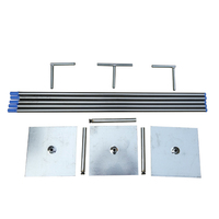 3*6M extra thicker durable adjustable square tube pipe stand stainless steel wedding backdrop stand frame