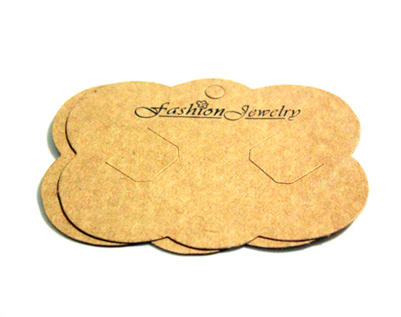50pcs Necklace Jewelry Display Cards,Necklace Packing Card, 87mmx64mm Free Shipping