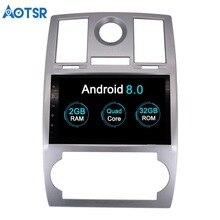 Aotsr 9 «HD Android 8,0 Автомобильный gps для Chrysler 300C 2014-2000 автомобильный dvd-плеер с gps 3g 4G wifi BT SWC навигационное радио бесплатная карта