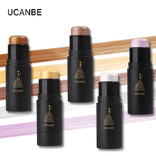 UCANBE Professional Face Contouring Shimmer Stick Brighten Skin Highlighter Cream Contour Pen Concealer 3D Bronzer Makeup