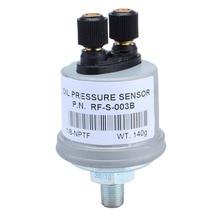 Универсальный VDO 1/8 NPT датчик давления масла для генераторной установки+-12006026