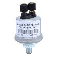 Sensor de presión de aceite Universal VDO 1/8 NPT para generador Set + Envío Gratis 12006026