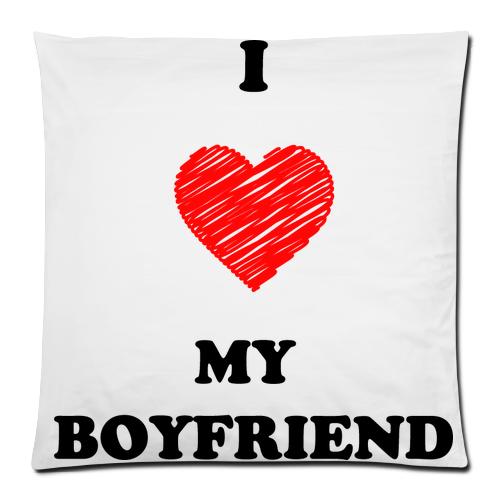 Kussenkussens Gloednieuwe I Love My Boyfriend Comfortabele Flanel