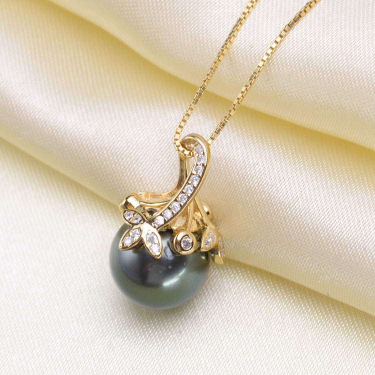 Fashion Pearl Pendant Mountings, Pendant Findings,