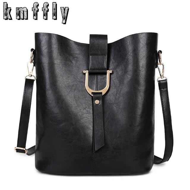 f7c9e082b4 Large capacity Bucket high quality Pu leather Shoulder Bag luxury handbags  designer bolsas de festa de