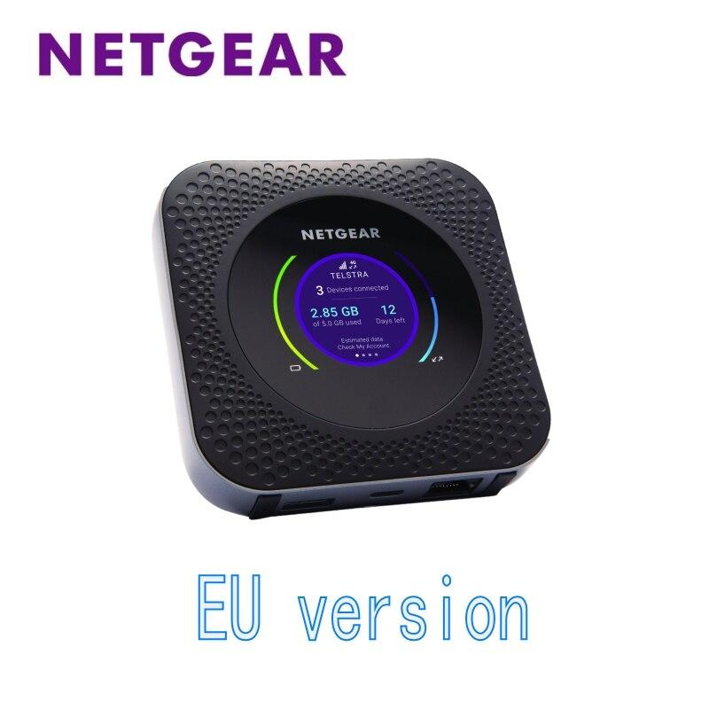 Unlocked EU Netgear Nighthawk M1 MR1100 LTE CAT16 4GX Gigabit Mobile Router  speeds WLAN LTE Band 1/3/7/8/20/28 /38/40/41