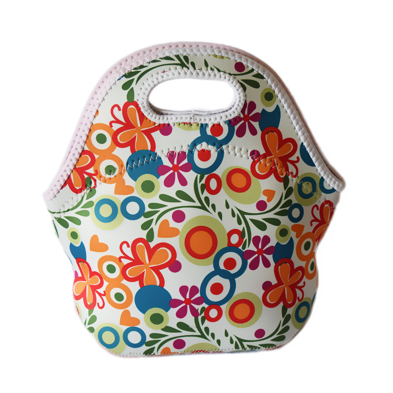 caixa lancheira termica loncheras fiambreras Name : New Hot 100% Neoprene Cooler Insulation Waterproof Thermal Lunch Bags