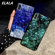 Funda de teléfono de mármol brillante para iPhone 6 6 S 8 7 Plus X funda 3D patrón divertido suave TPU trasera funda para iPhone 7 iPhone 7 Plus XR XS(China)