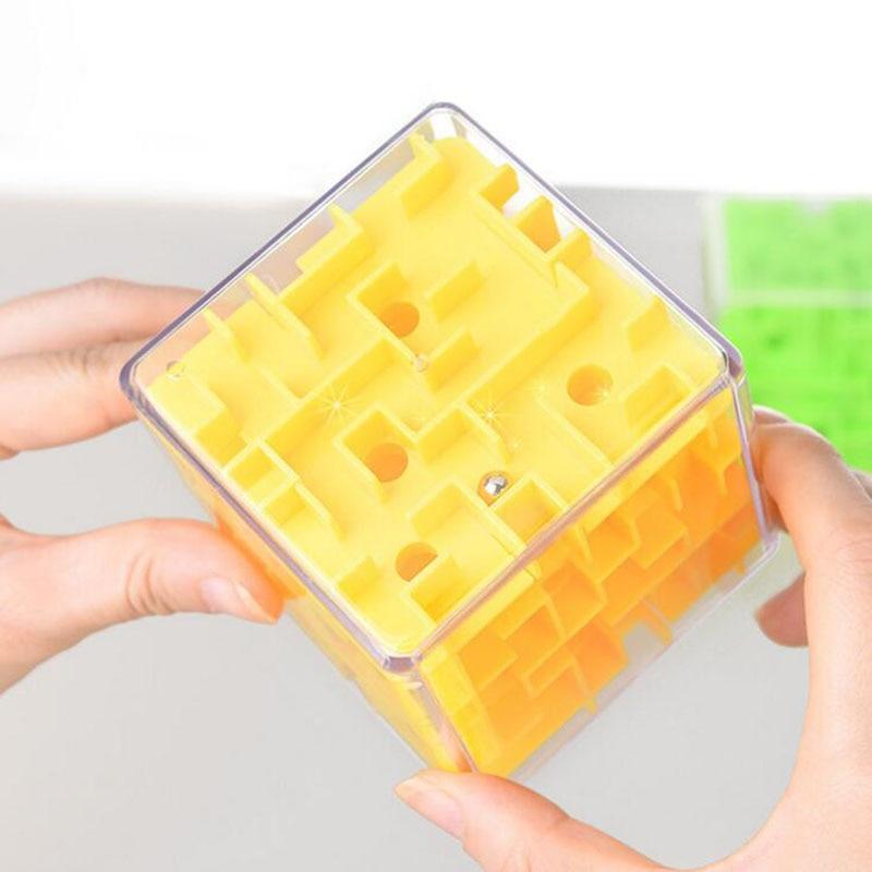 8 * 8 * 8cm 3D Puzzle Maze Cube Puzzle Vitesse Cube Puzzle Jeu - Jeux et casse-tête - Photo 5