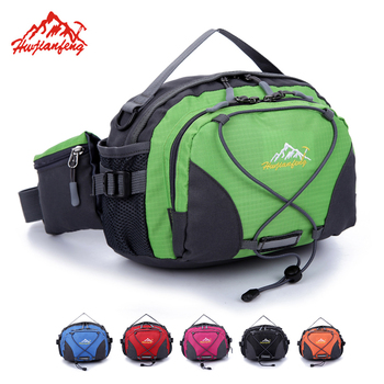New Outdoor Sports Waterproof Camping Hiking Bags Waist Bag Pouch Nylon Lightweight Travel Casual Shoulder Bag Portable Handbag kubug outdoor sports shoulder bag hiking running climbing bag casual travel waist bag waterproof chest handbag