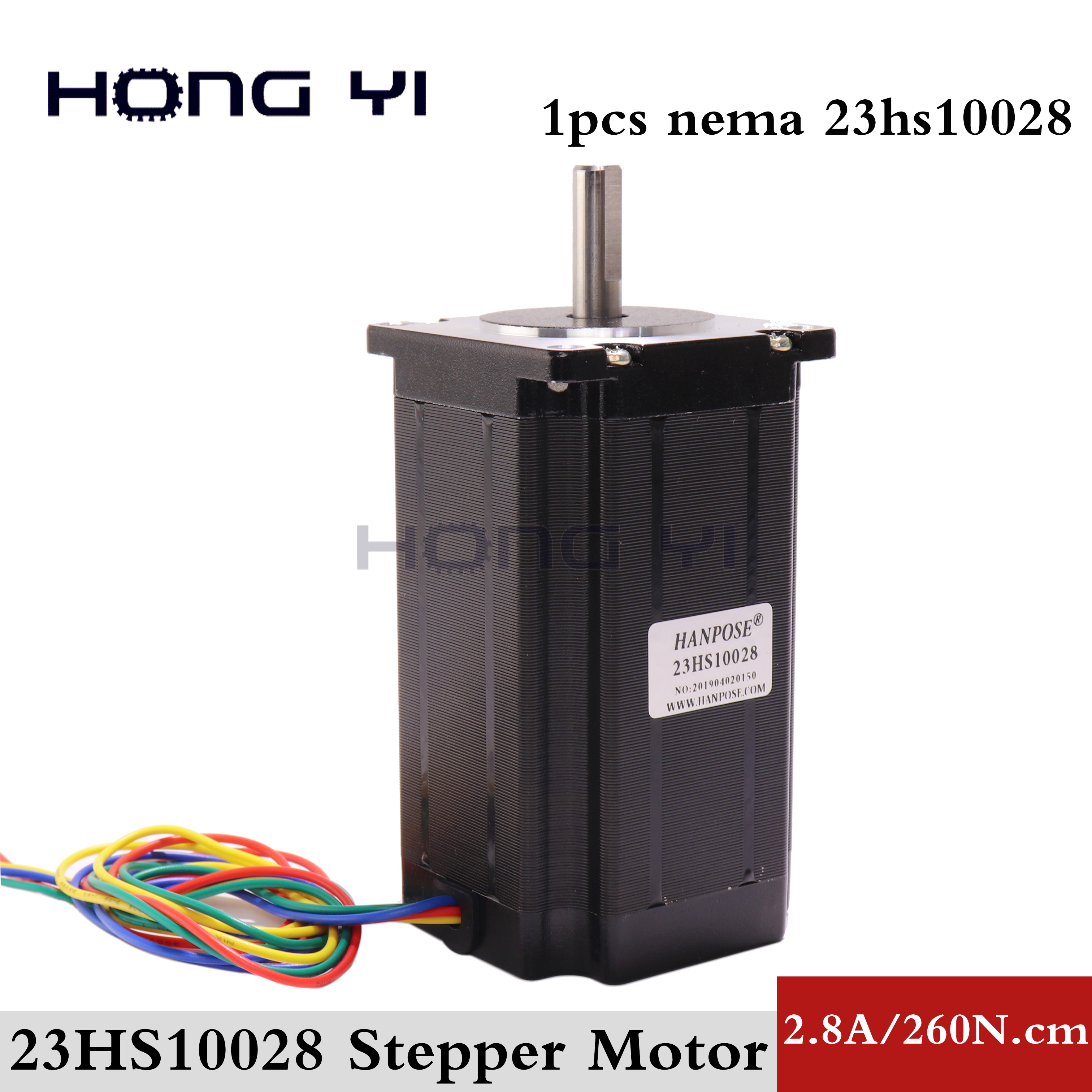 1 pcs 23HS10028 4 lead Nema 23 Stepper Motor 57 motor NEMA23 3 5A CE ROSH