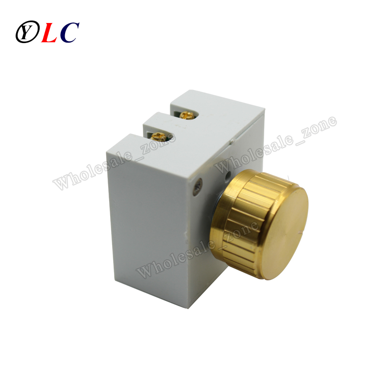 Dimmers 1a 220 v dimmer lâmpada Material : Plastic And Metal
