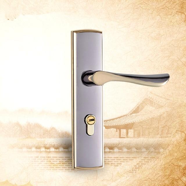 Zinc alloy hardware furniture door lock classical handles door for ...