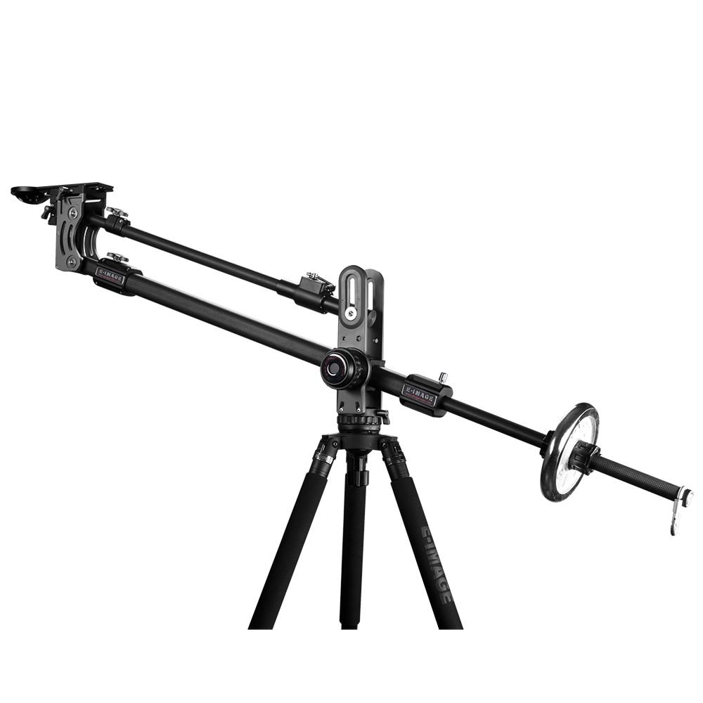 E-IMAGE J100 professional carbon fiber camera video jib Crane jib arm 7kg/15.4lbs bear for Canon Nikon Sony BMCC Camcorder воблер smith jib