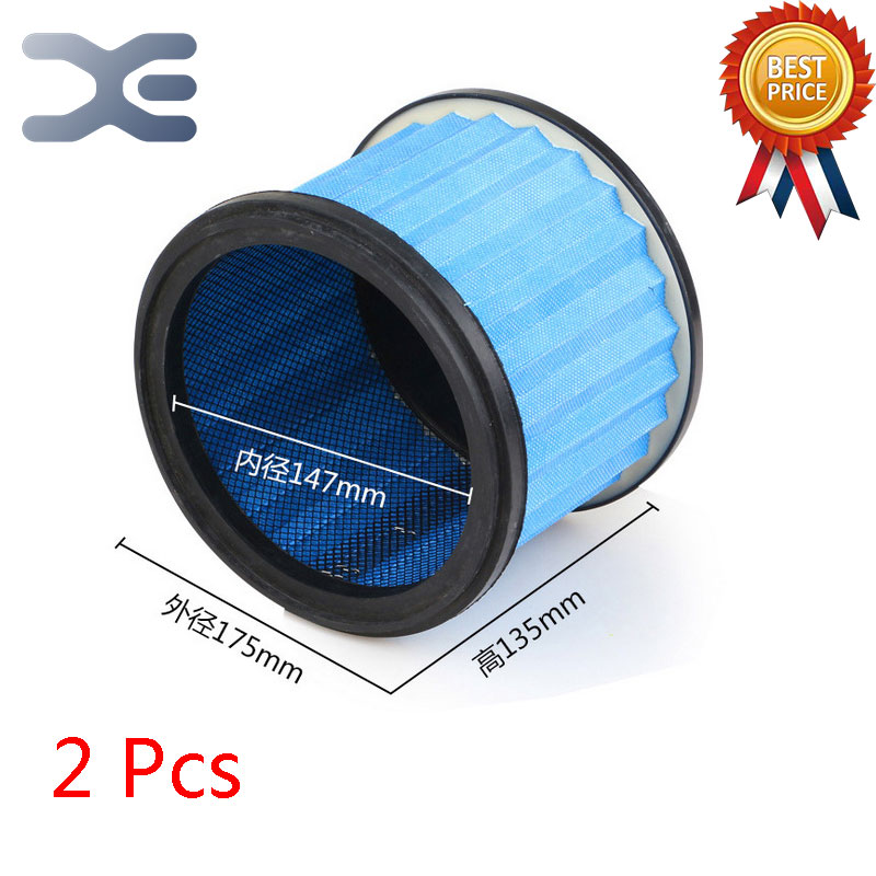 2Pcs Lot High Quality Compatible With For Midea VT02W-09B / QT14Z-04I / T3-L201B Vacuum Cleaner Accessories Filter Mesh Filter