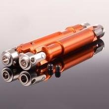 2шт rc hsp 180011 106 138 мм алюминиевый универсальный шарнир