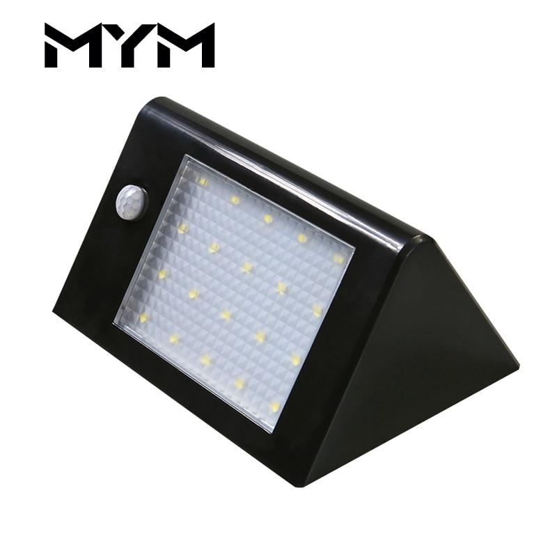 20 LED Solar Light Outdoor Body Motion Sensor Security Solar lamp Super Brightness Holiday Lamp Path Wall Solar Garden Light