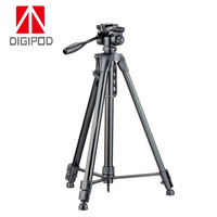 DIGIPOD TR 682AN 72 inch black colour tall 3 sections camera stand tripod amount for photographer