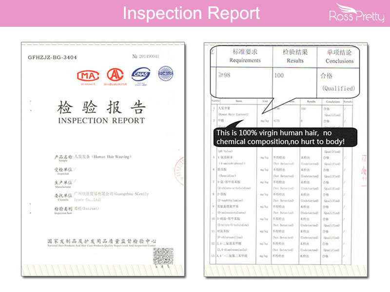 Ross Pretty Hair Inspection Report