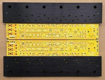 ZEROZONE One pair TO-3 Class A Amp PCB base on KRELL KSA50 MKII + aluminum plate L8-1