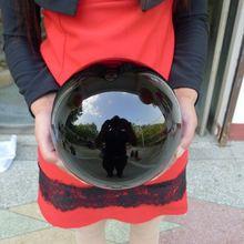 10100 г натуральный обсидиановый Кристалл насадка шар исцеления