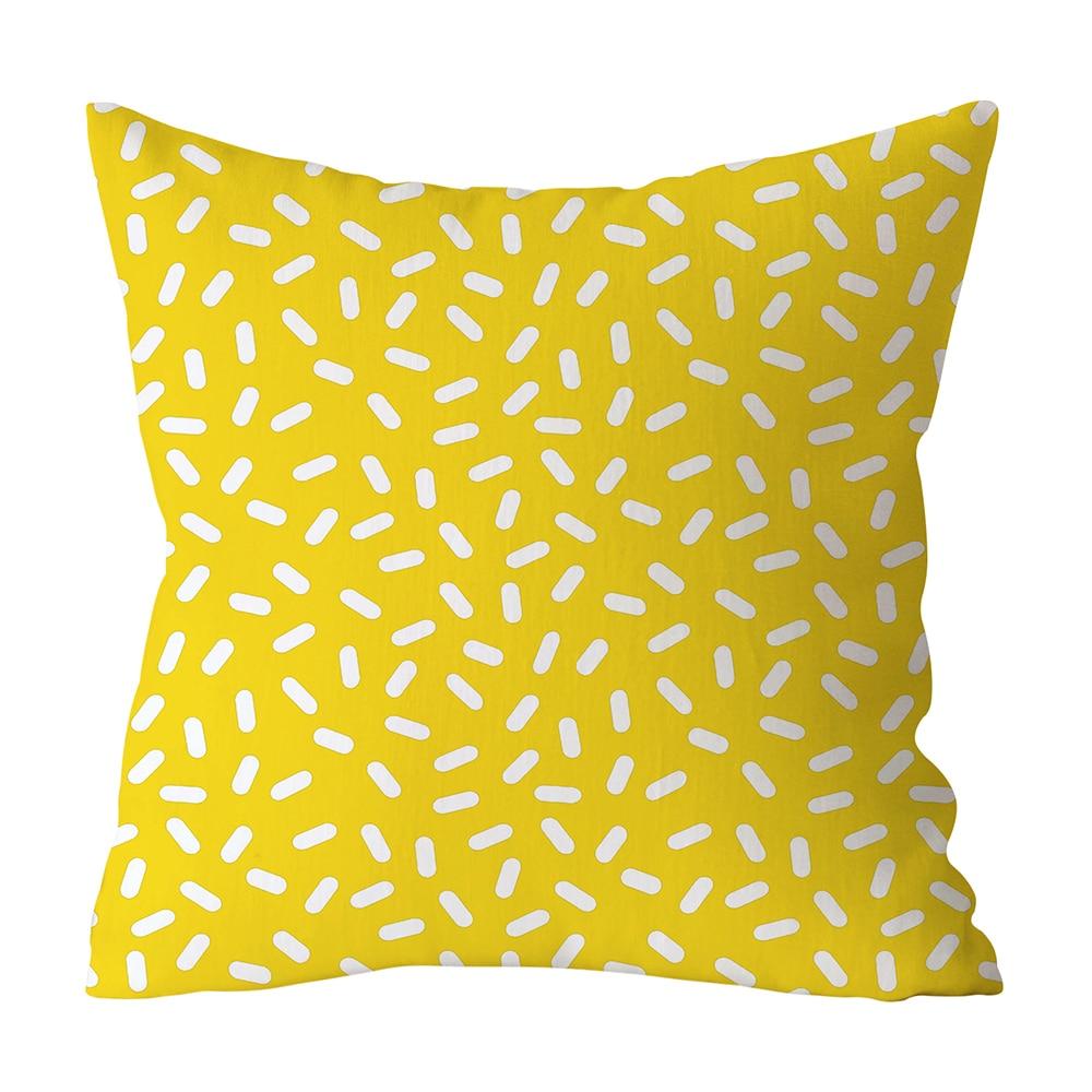 HTB1LTbuXEGF3KVjSZFmq6zqPXXaD Polyester Geometric Cushion Yellow Pineapple Pillow Decorative Cushion for Sofa DIY Printed Pillow Seat Chair Cushion