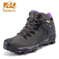 Merrto Women Hiking Shoes Outdoor Climbing Zapatos Female Trekking Boots Sports Shoes Waterproof Sneakers Botas Senderismo