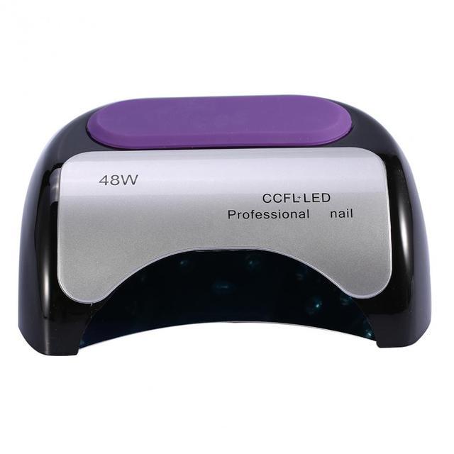 EU/US Plug 48W Nail Dryer Auto-Sener CCFL LED Nail Lamp GEL Polish Machine Nail Art UV Lamp LED Dryer Professional Nail Dryer