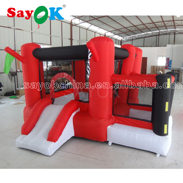 Inflatable Jumper House Bouncer with Slide Inflatable Bouncy Castle For Children